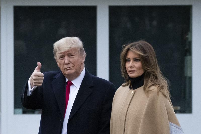 川普離開白宮!搭直升機前往空軍基地 準備參與告別典禮