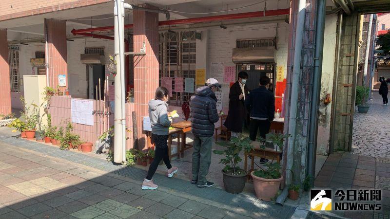 罷免王浩宇投票日 桃眷村地區出現投票人潮