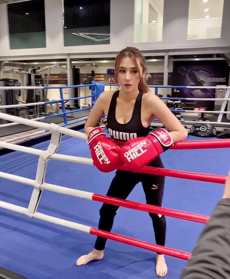 ▲橫綱凱咪表示自己要練泰拳防身。(圖/橫綱凱咪臉書)