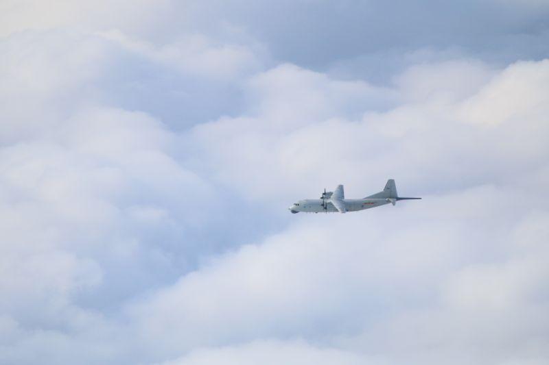 ▲國防部證實,今(16)日一架運-8反潛機闖入我西南防空識別區。(圖/國防部提供)
