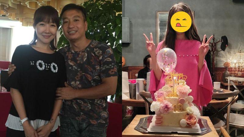 ▲王中平(左圖右)、余皓然18歲愛女正面曝光。(圖/資料照、王中平和余皓然愛的小屋臉書)