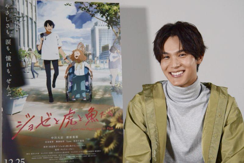 ▲曾來台的中川大志,表示很喜歡台灣的一切。(圖/采昌)