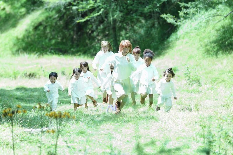 ▲▼片中美麗的森林場景,是在入笠高原牧場拍攝。(圖/甲上)