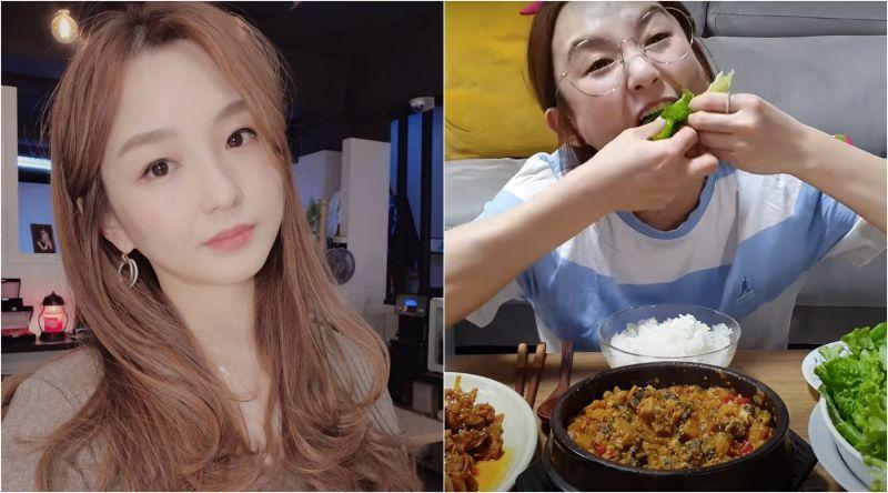 ▲知名吃播主Hamzy認為包菜、包飯是南韓的飲食文化,舉動惹怒大陸網友。(圖/Hamzy IG、YouTube)