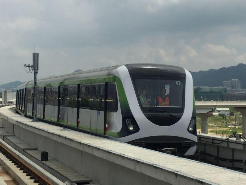 中捷列車改善後軸心檢驗符合 進行測試