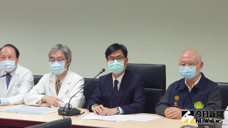 防疫準備工作升級,高雄市長陳其邁宣布取消今年的高雄燈會活動。(圖/記者鄭婷襄攝)