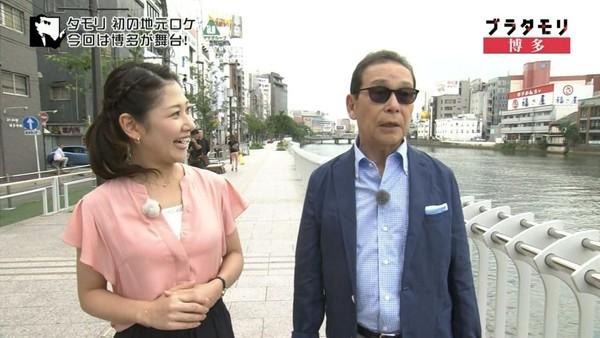 ▲桑子真帆(左)也是《閒走塔摩利》的助理主持人。(圖/翻攝《閒走塔摩利》YT)