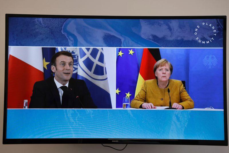 Angela Merkel/Emmanuel Macron/梅克爾/馬克宏/德國/法國/歐盟