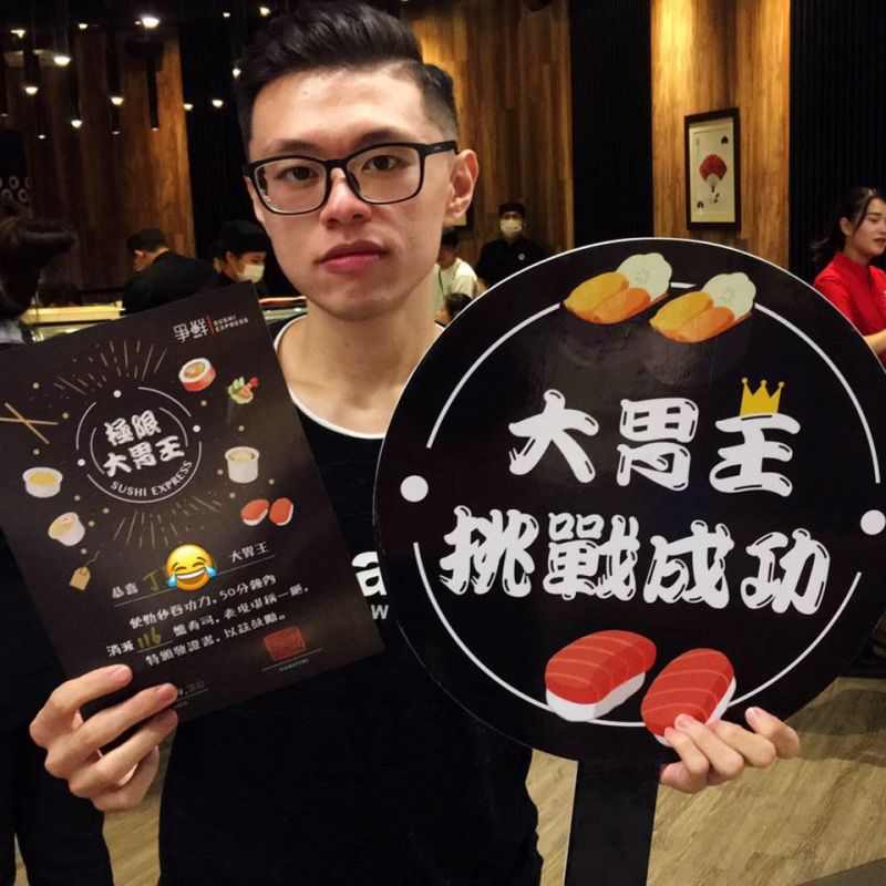▲大胃王丁丁在網紅界小有名氣。(圖/大胃王丁丁臉書、YouTube)