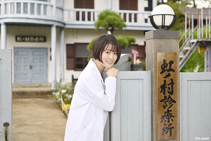 ▲片中,飾演醫生的高畑充希隱瞞病情,到診所工作。(圖/friDay影音)