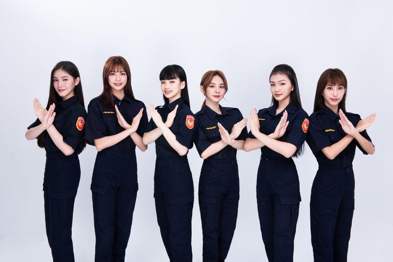 6位正妹女警排排站 起底身分是她們