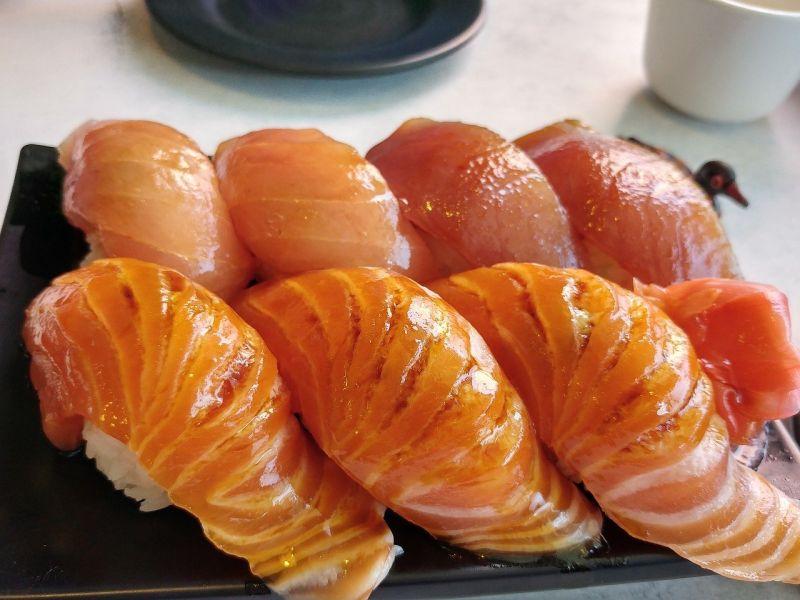▲搜狐號《小乾倩倩的遊戲的美食》指出,壽司會帶給人的飽足感。(示意圖/翻攝Pixabay)