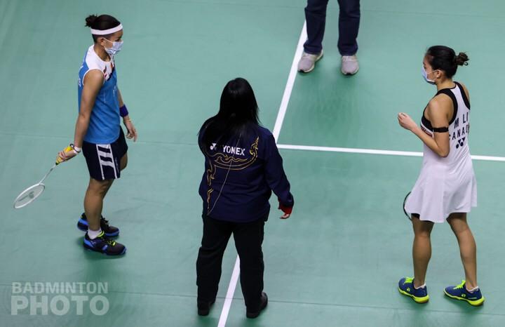▲戴資穎出戰加拿大一姊李文珊(圖/Badminton