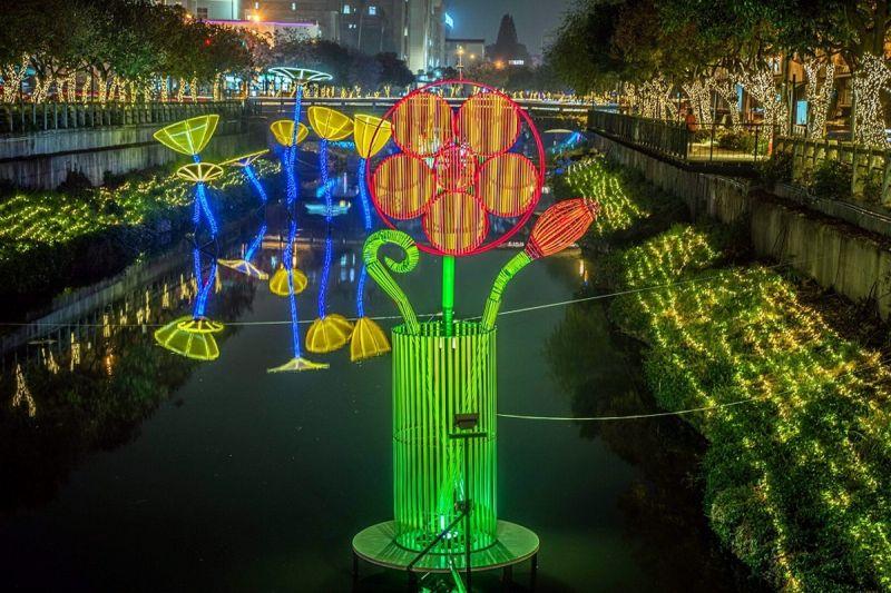 許一個繁花盛艷新年 2021屏東綵燈節結合文學創作綻放