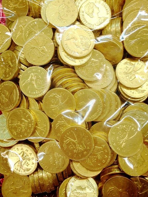 ▲近日就有網友在網路上表示疑惑「『金幣巧克力』是不是超級夯?」。(示意圖,與文章中內容無關/翻攝自《小城進口食品-