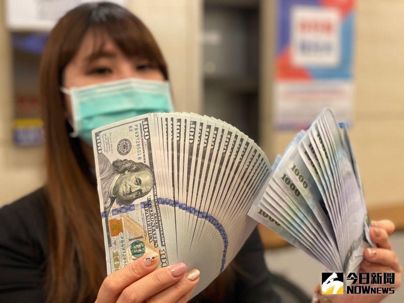 鼠年封關台幣收平盤28.39元 全年升值1.616元、升幅5.7%