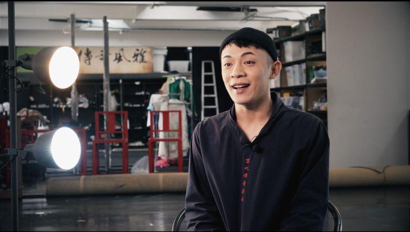 ▲楊瑞宇目前身兼多職,不只是一位演員,同時進修碩士班,也回台灣戲曲學院擔任講師。(圖/記者詹皓帆攝)