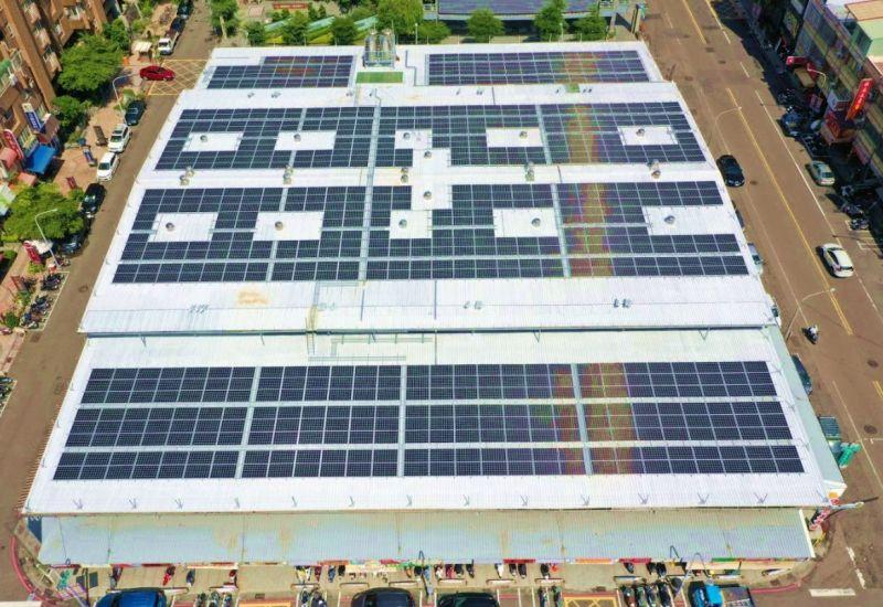 菜市場也能發電 高雄7處公有市場打造綠能