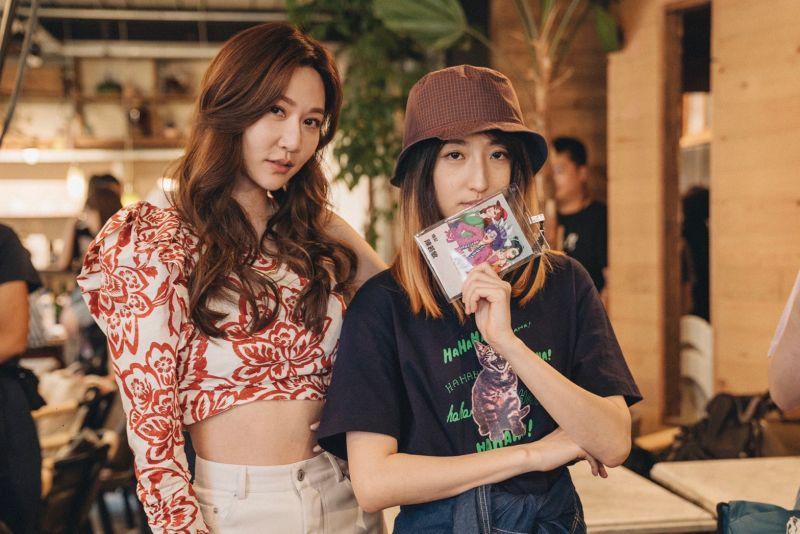 ▲曾莞婷(左)、柯佳嬿演出。(圖