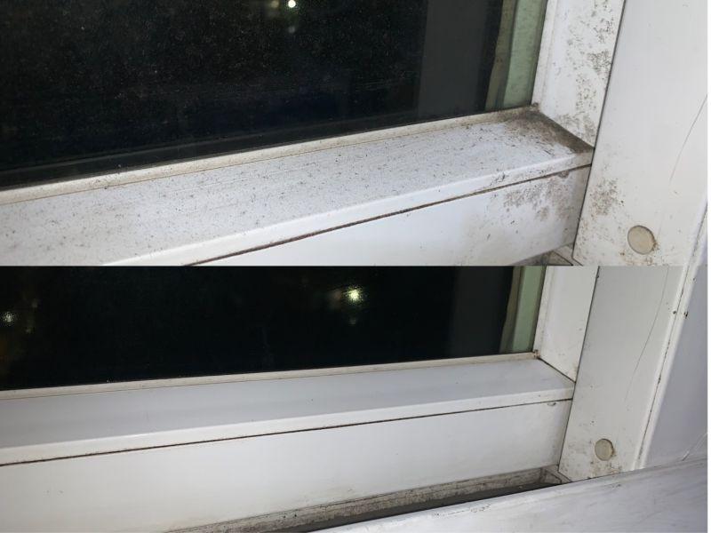 ▲使用「居家殺菌濕紙巾」實測結果,不僅髒污可以輕易去除,還有效殺菌。(圖/記者鄭志宏攝)