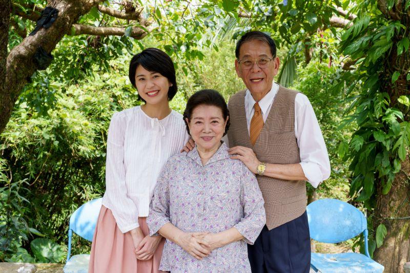 ▲陳璇(左)與爸爸龍劭華合作戲劇。(圖