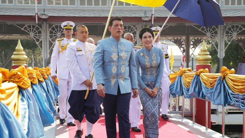 泰王瓦吉拉隆功(Maha Vajiralongkorn)/貴妃詩妮娜(Sininat)/美聯社/AP Photo/Thailand
