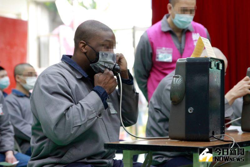 北監電話懇親 外籍收容人也能跨海聽家人的聲音