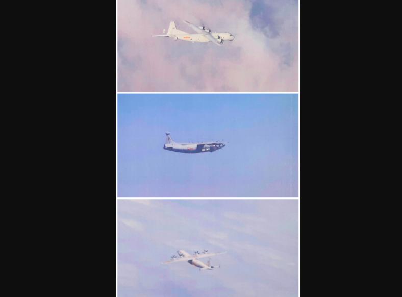 共軍再擾台!本月23度闖西南空域 總計出動50架次軍機