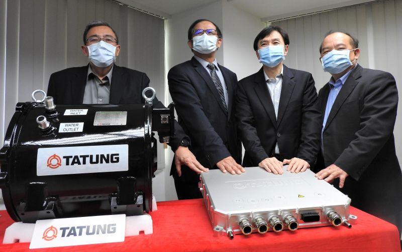 力拼2030<b>電巴</b>國產化!首個台灣自產<b>電巴</b>動力系統亮相