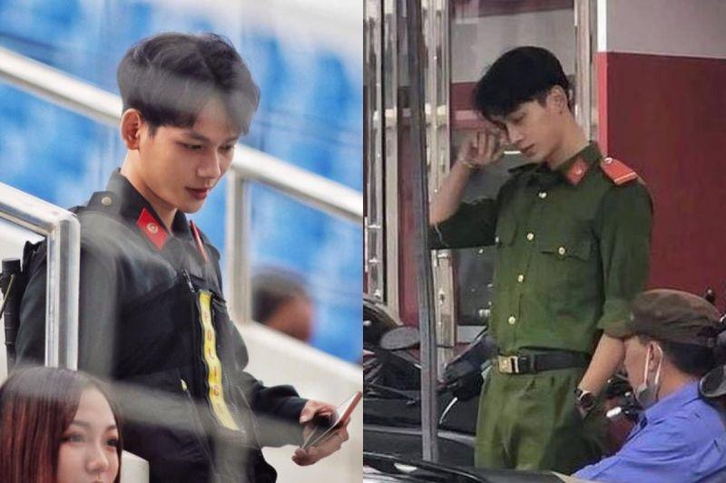 越南<b>花美男</b>警察顏值受關注 網友:帥到引人犯罪!