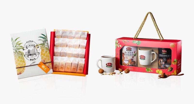 ▲紅頂穀推出人氣穀飲及糕點多種系列,呷健康、呷甜甜好過年!(圖/高市經發局提供)