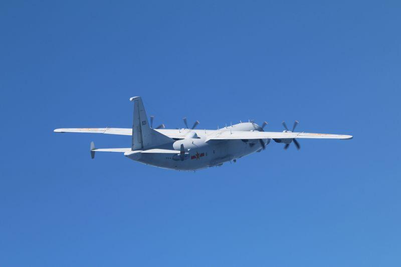▲國防部晚間證實,30日有1架次共機運-8技偵機闖我西南空域。(圖/國防部提供)