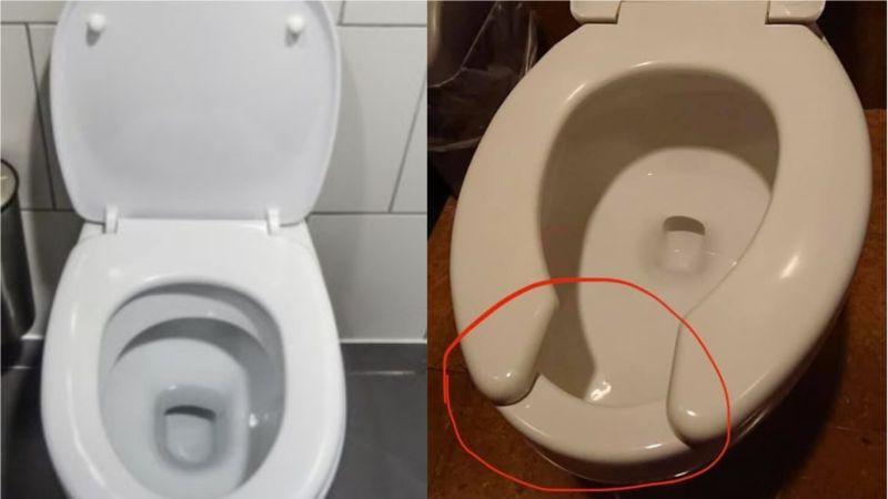 為何馬桶坐墊會有缺口?內行曝「1關鍵」:因謠言而設計