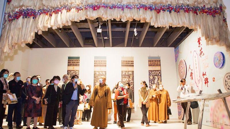 東亞族群織品展秀<b>編織</b>工藝之美 光影投射空間美學再升級