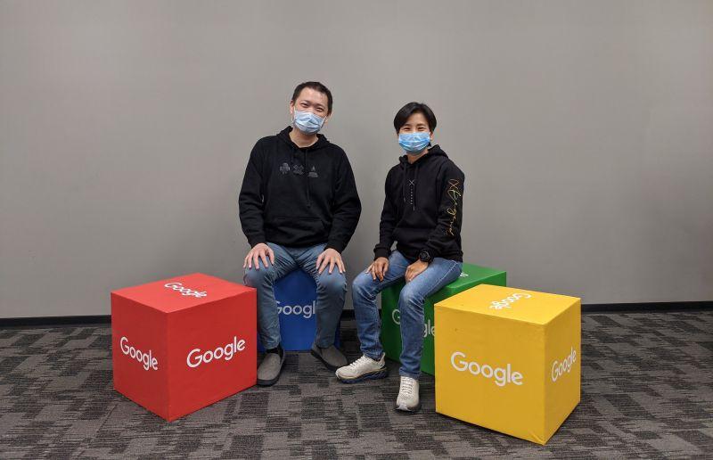 ▲Google 台灣資深業務總監蔡逸民(左)、傳奇網路遊戲營運長周秋美(右)1月29日與媒體分享台灣手遊市場概況。(圖/Google提供)