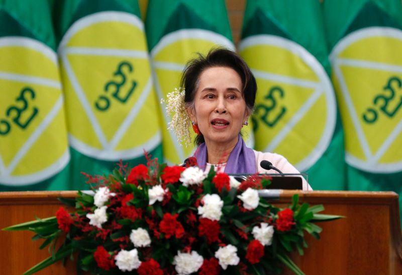 緬甸全民盟:翁山蘇姬目前遭軟禁 健康情況良好
