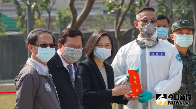 指揮官率化學兵消毒錯過兒子出生 蔡英文:代替國人感謝