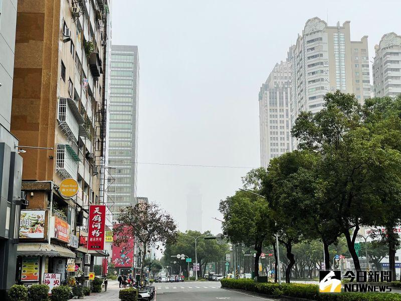 空氣品質恐亮<b>紅燈</b>!西半部污染物擴散不易
