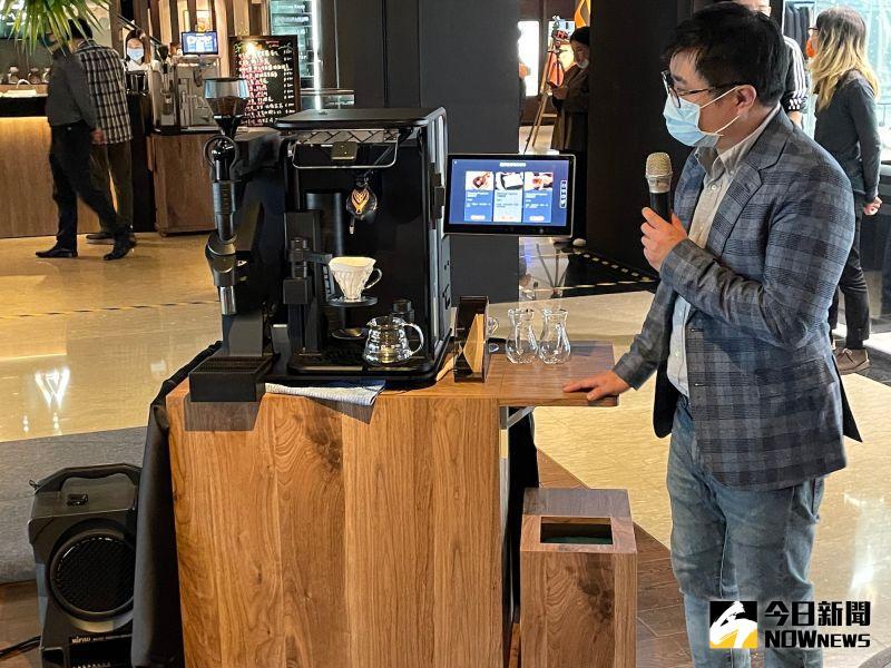 ▲智慧手沖咖啡平台除了能精準測量咖啡豆研磨的粗細和重量,更能紀錄咖啡師獨一無二的「沖泡曲線」包含注水量、萃取量和溫度變化。(圖/記者黃仁杰攝,2021.02.01)