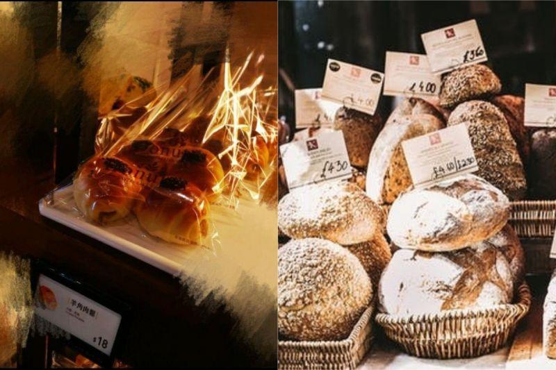 ▲有網友買肉鬆麵包,結帳時價格卻變2倍,原因讓她氣炸。(示意圖/翻攝自《爆怨公社》及《pexels》 )