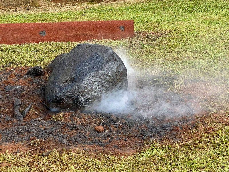 ▲「隕石墜落」只是校方精心安排的教學課程。(圖/翻攝自Malanda