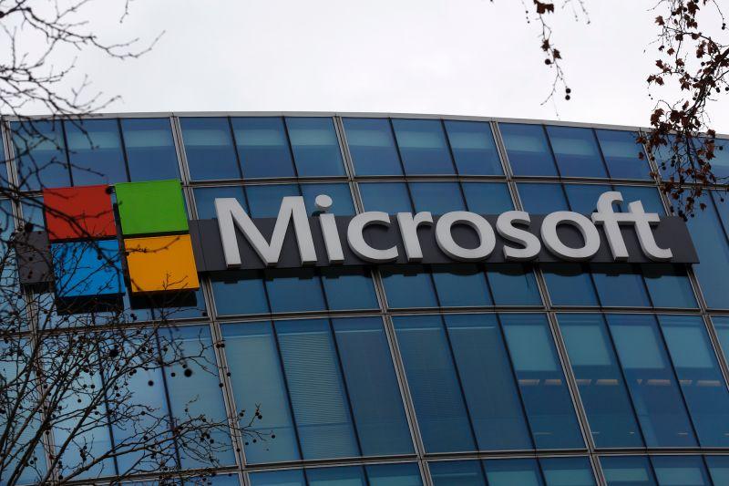 ▲微軟公司近日證實駭客藉其電郵軟體入侵美國機構竊密,據悉已有至少3萬個美國組織受害。(圖/美聯社/達志影像)