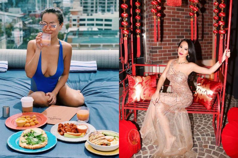 ▲在節目中以和男友Andrew感情故事為主軸的富豪Kelly Li,憑藉己力成為企業家,但在此之前,她其實曾嫁給詐騙集團首腦,人生跌宕起伏。(圖/翻攝自Instagram)