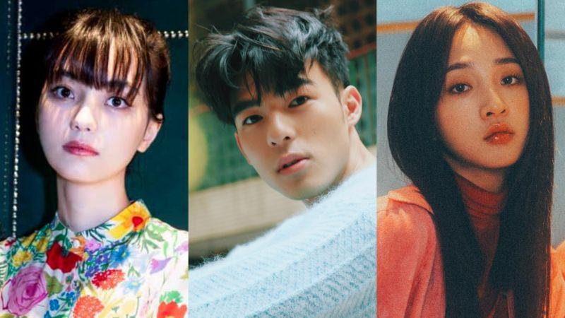 ▲黑嘉嘉(左圖起)、陳昊森、李沐是眾所關注的新演員。(圖/黑嘉嘉、陳昊森、李沐臉書)