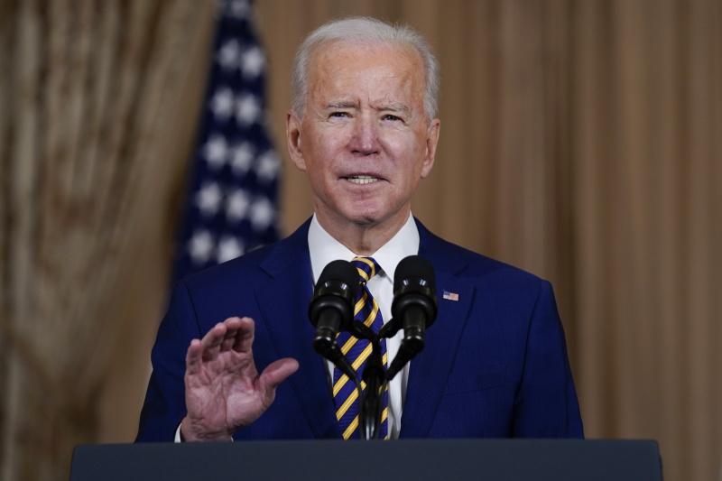 ▲美國總統拜登(Joe Biden),將於台灣時間12日上午發表全國電視談話。資料照。(圖/美聯社/達志影像)