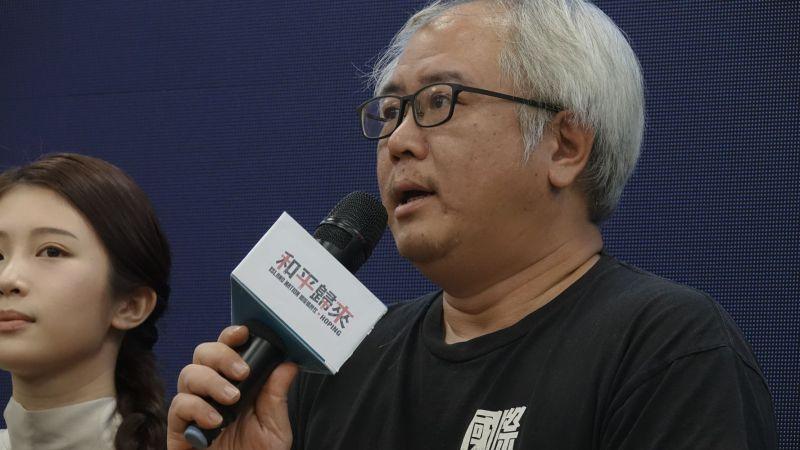 ▲製作人汪怡昕(右)對於退費表示沒關係。(圖/國際橋牌社)