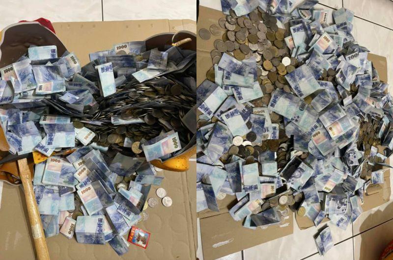 ▲男網友PO出自己存了一年的超狂豬公照,並曝光金額。(圖/翻攝自《爆廢公社二館》)
