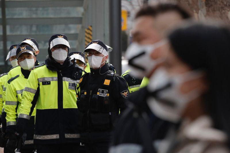 韓國 警察 新冠肺炎