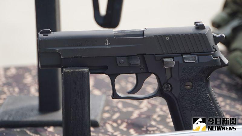 ▲陸戰特勤隊使用的P226