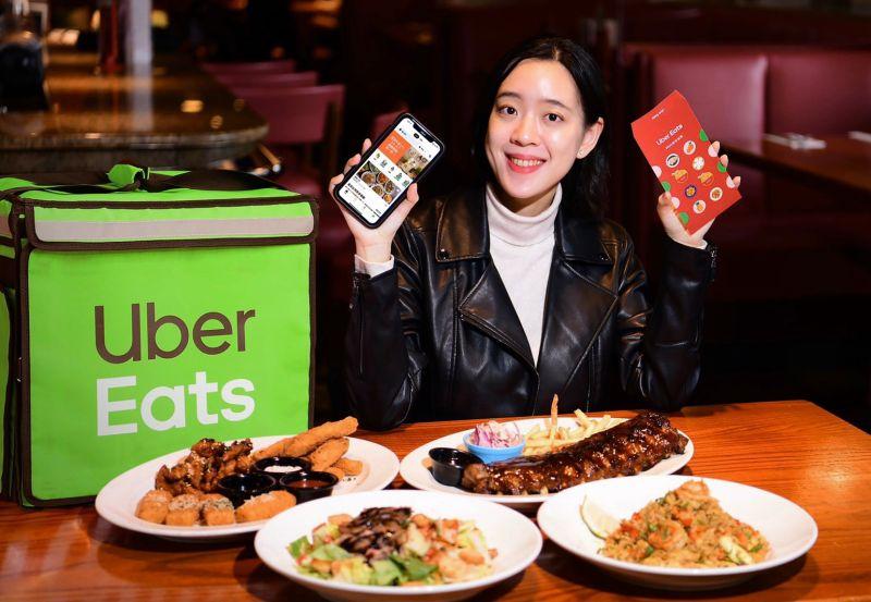 過年也外送!UberEat公布春節熱門時段 熊貓估訂單漲3成